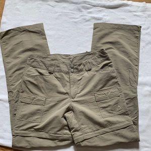 The North Face Convertible Hiking Pants/Shorts